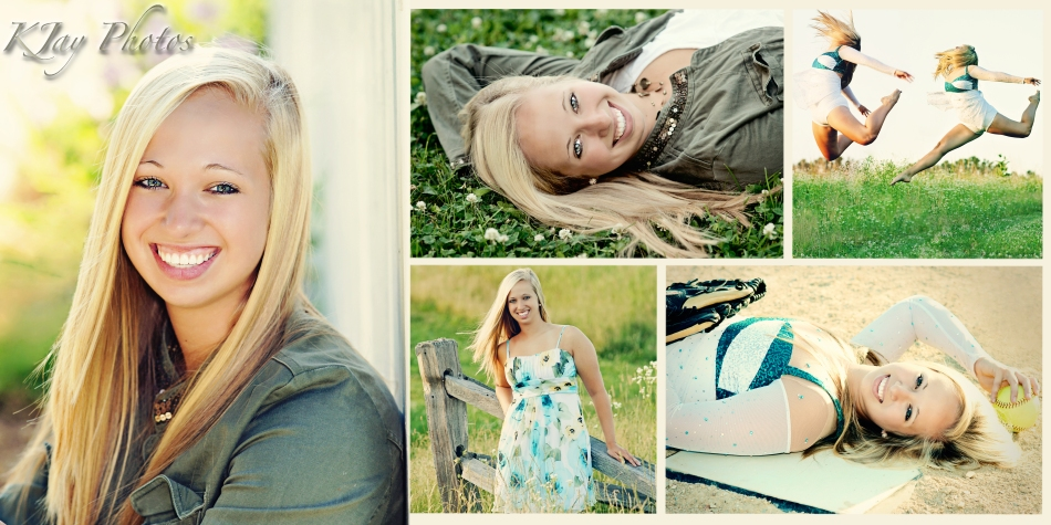 Senior Pictures softball player, dancer and style.  K JAY Photography, Madison Wisconsin