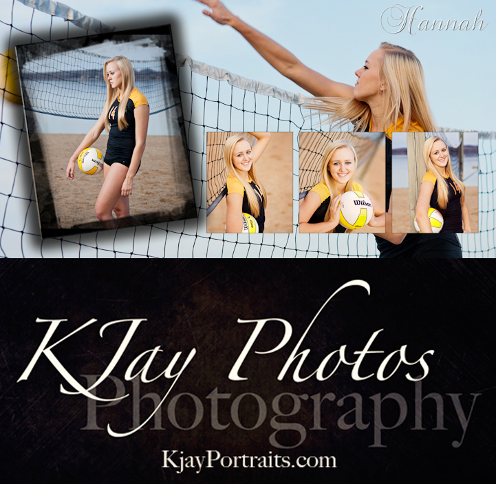 DeForest Photography Studio High School Senior Pictures Volleyball Player