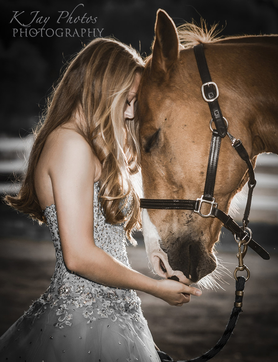 She dreamed of owning a horse as a little girl