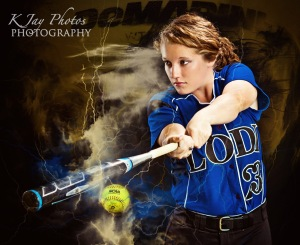 Softball Senior PIctures that rock