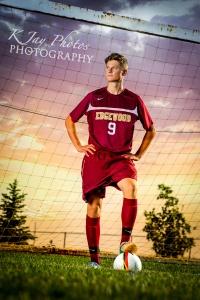 soccer senior pictures
