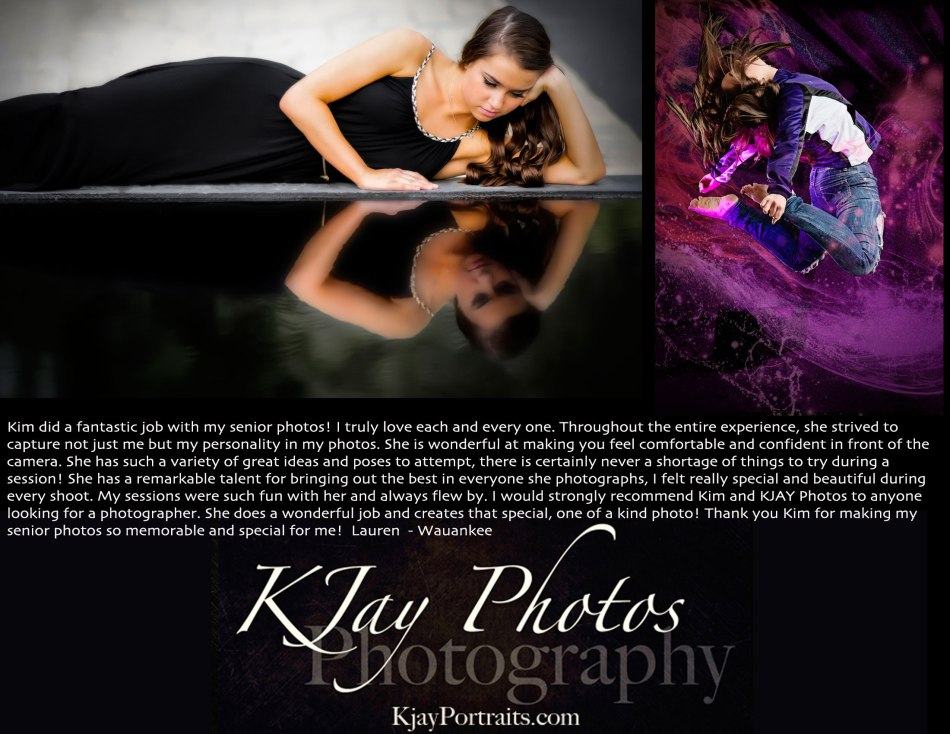 K Jay Photos Review.  Photographer, Wauankee WI