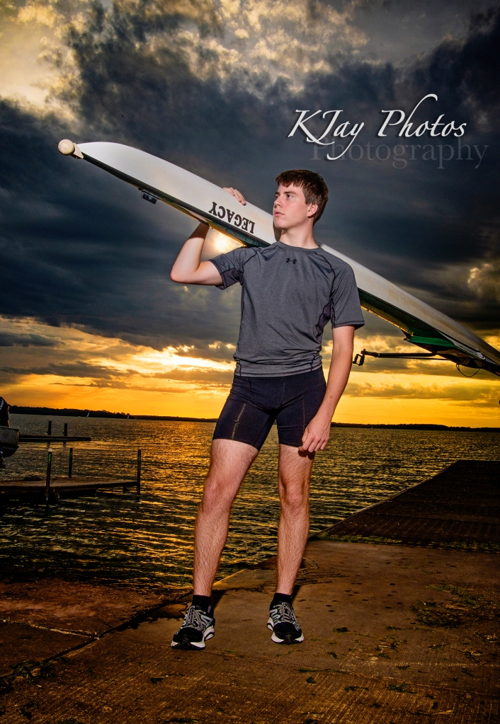 Rowing senior pictures, Madison WI
