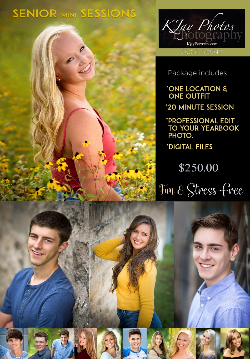 K Jay Photos affordable senior pictures. Madison, WI Photographer.
